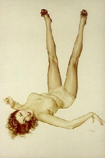 Legacy Girl Deluxe Edition 1987 HS Limited Edition Print - Alberto Vargas