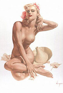 Sea Shells #12 Deluxe Edition Limited Edition Print by Alberto Vargas