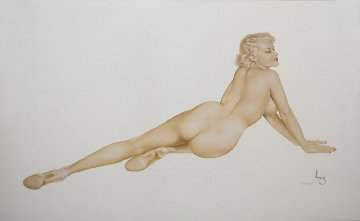 Big Blonde  Limited Edition Print - Alberto Vargas