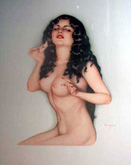 Broadway Showgirl Deluxe Edition 1986 Limited Edition Print - Alberto Vargas