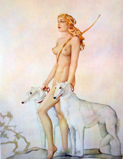 Childers Edition Set of 5 Prints 1978 Limited Edition Print by Alberto Vargas