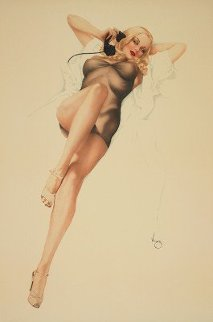 First Love 1986 HS Limited Edition Print by Alberto Vargas