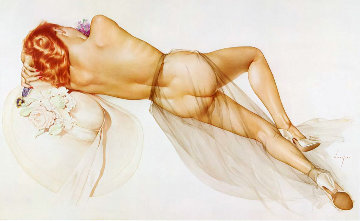 World War II 1983 HS Limited Edition Print by Alberto Vargas