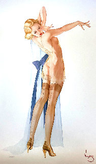 Seams Perfect 1991 Limited Edition Print by Alberto Vargas