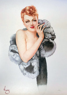 Beauty 1993 Limited Edition Print by Alberto Vargas