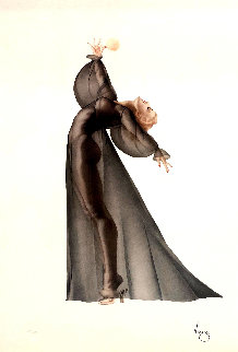Sheer Elegance 1987 Limited Edition Print by Alberto Vargas