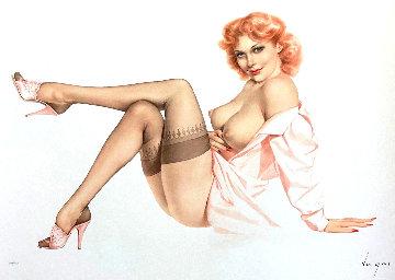Silk Stockings 1988 Limited Edition Print - Alberto Vargas