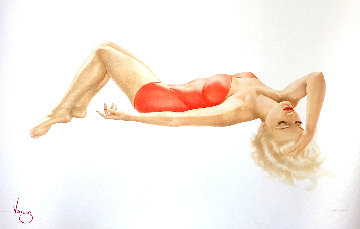Day Dreaming 1991 Limited Edition Print by Alberto Vargas