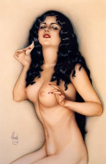 Broadway Show Girl 1986 Limited Edition Print - Alberto Vargas