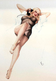 First Love 1986 Limited Edition Print by Alberto Vargas