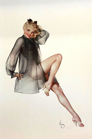 Sleepy Time Gal 1987 Limited Edition Print by Alberto Vargas