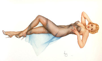 Sweet Dreams 1989 Limited Edition Print - Alberto Vargas