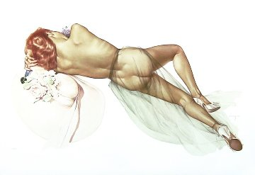 World War 2 1983 HS Limited Edition Print - Alberto Vargas