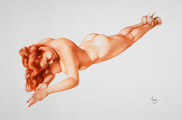 Exuberance, Legacy Edition #4 Limited Edition Print by Alberto Vargas