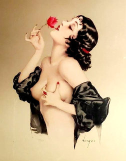 Memories of Olive 1985 Limited Edition Print - Alberto Vargas