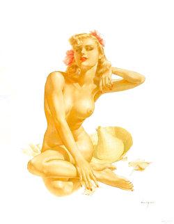 Sea Shells Legacy Nude #12 1988 Limited Edition Print - Alberto Vargas