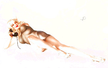 First Love 1986 Limited Edition Print - Alberto Vargas