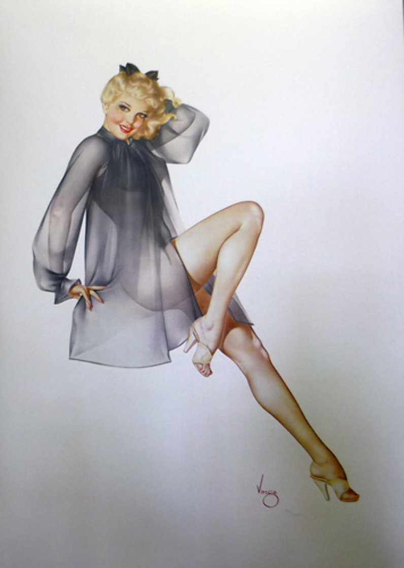 Sleepy Time Gal Deluxe Edition 1987 HS Limited Edition Print by Alberto Vargas