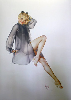 Sleepy Time Gal Deluxe Edition 1987 HS Limited Edition Print - Alberto Vargas