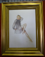 Sleepy Time Gal Deluxe Edition 1987 HS Limited Edition Print by Alberto Vargas - 1