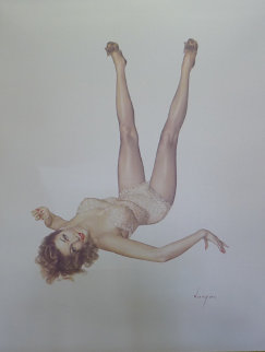 Legacy Girl Deluxe Edition 1987 Limited Edition Print by Alberto Vargas