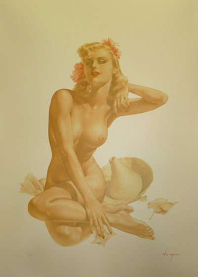 Sea Shells #12 Deluxe Edition 1988 HS Limited Edition Print by Alberto Vargas