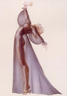 Sheer Elegance 1987 Limited Edition Print by Alberto Vargas
