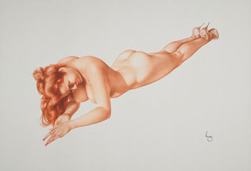 Legacy 4 Exuberance Limited Edition Print by Alberto Vargas