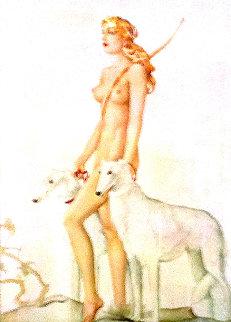 Diana 1978 Limited Edition Print - Alberto Vargas