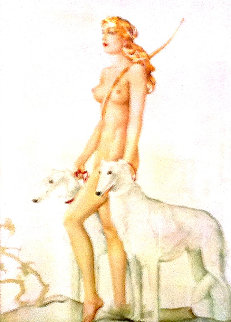Diana 1978 Limited Edition Print by Alberto Vargas