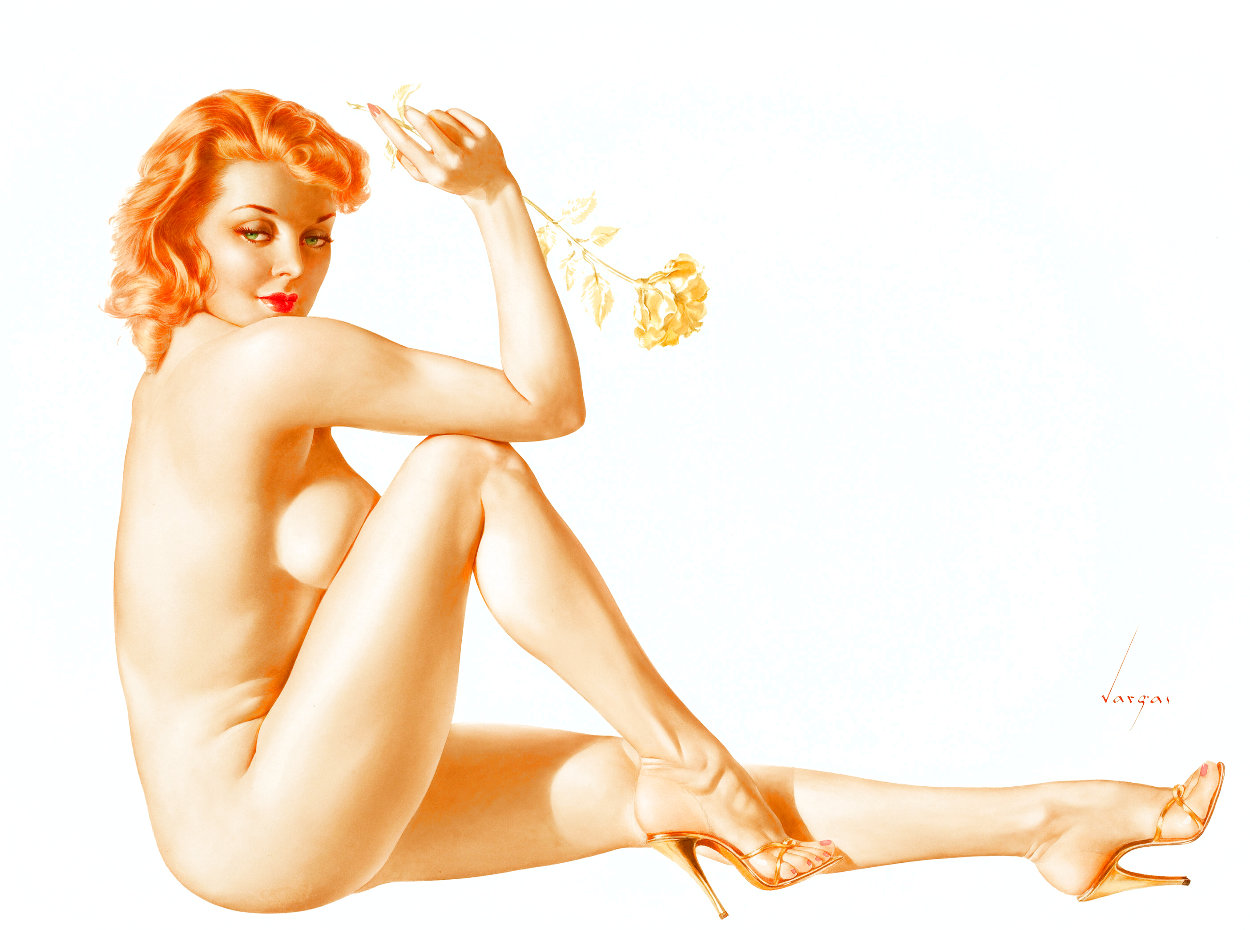 Legacy Girls Suite of 12  1988 Limited Edition Print by Alberto Vargas
