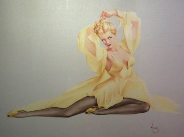Enchanted Evening Limited Edition Print - Alberto Vargas