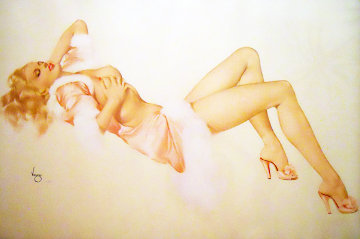 Sleeping Beauty, Legacy Nude I 1994 Limited Edition Print - Alberto Vargas
