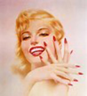 Marilyn Monroe 1979 HS Limited Edition Print - Alberto Vargas