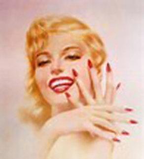Marilyn Monroe 1979 Limited Edition Print by Alberto Vargas