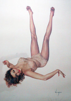 Legacy Girl 1987 Limited Edition Print by Alberto Vargas