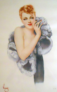 Beauty 1993 HS Limited Edition Print - Alberto Vargas