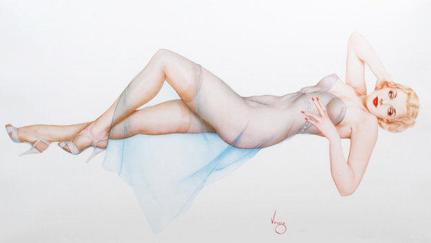Sweet Dreams  Limited Edition Print by Alberto Vargas