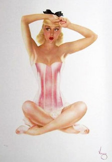 Satin Doll HS Limited Edition Print - Alberto Vargas