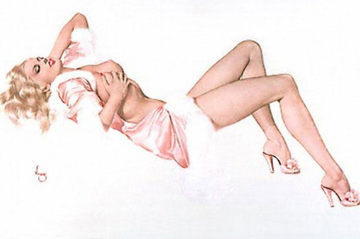 Broadway Showgirl Deluxe Edition  1986 HS Limited Edition Print by Alberto Vargas