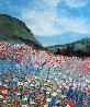 Untitled Floral Landscape AP 1980 Limited Edition Print by Eda Varricchio - 0