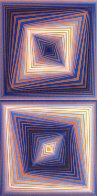 Bi-Rhombs 1978 Limited Edition Print by Victor Vasarely - 0