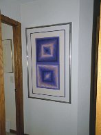 Bi-Rhombs 1978 Limited Edition Print by Victor Vasarely - 1