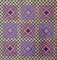 Jatek 1986 Limited Edition Print by Victor Vasarely - 0