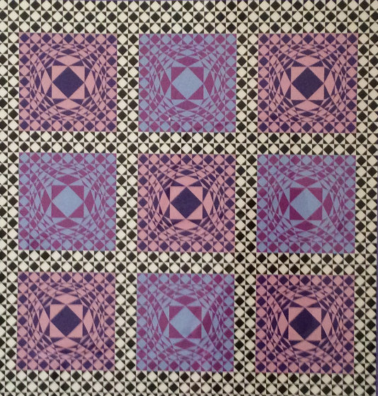 Jatek 1986 Limited Edition Print by Victor Vasarely