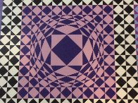 Jatek 1986 Limited Edition Print by Victor Vasarely - 2