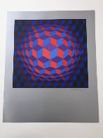 Cheyt Rond 1974 Limited Edition Print by Victor Vasarely - 2