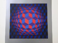 Cheyt Rond 1974 Limited Edition Print by Victor Vasarely - 1