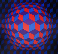 Cheyt Rond 1974 Limited Edition Print by Victor Vasarely - 0