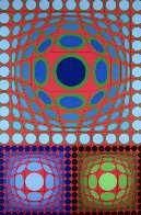 Tri-Vega 1983 Limited Edition Print by Victor Vasarely - 0